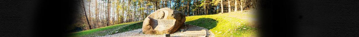 Puntuko akmuo 360°. Anykščiai