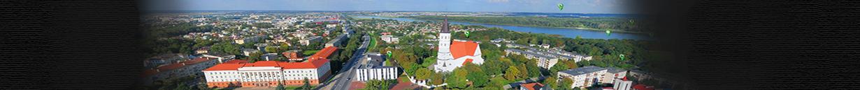 Šiaulių miesto panoraminė 360° apžvalga iš paukščio skrydžio.